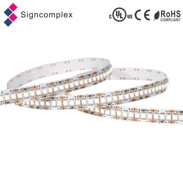 Tira magro do diodo emissor de luz da cor completa econômica da venda quente, tiras flexíveis 3528 do diodo emissor de luz com Ce RoHS