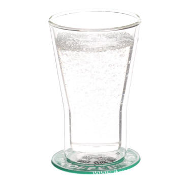 China supplier OEM for Handmade Glass Cup Double Wall Thermo Glasses And Cups For Espresso supply to Austria Exporter