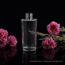 Récipient en verre de bouteille de parfum de 90ml Lady pour le cosmétique