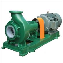 Doublure de PTFE de série d'IHF à l'intérieur de la pompe centrifuge, pompe centrifuge en plastique de Fluoro, acide de pompe de transfert