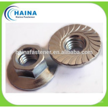 SS316/SS304 stainless steel flange nut