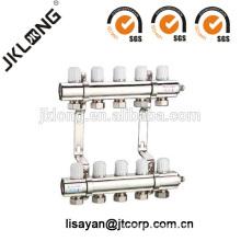 F615 Messing Verteilerventil für Fußboden Heizsystem