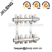 F615 Brass Manifold Valve for floor Sistema de aquecimento