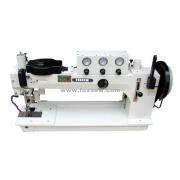 Largo brazo pesado deber zig-zag la máquina de coser para navegar hacer