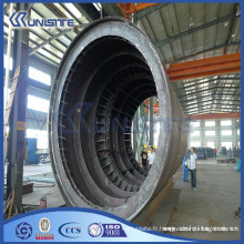 Tuyaux en acier haute résistance personnalisés pour l'infrastructure de trafic tunnel (USD1-001)