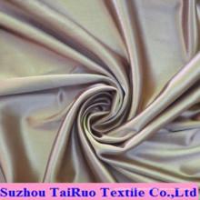 Tissu 100% polyester imprimé tissu satin extensible satin