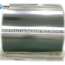 Selando papel alumínio para PET laminado