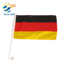 Gros plume promotionnel drapeau national allemand