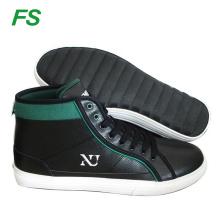 men's laced hi top skate shoes