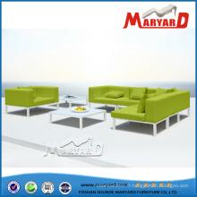 Sofa européen moderne en tissu pour la pièce vivante et le patio