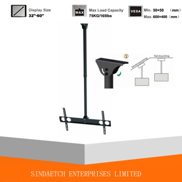 Ceiling Mount/ Ceiling Bracket, Support Bevel Mounting & Flat Mounting