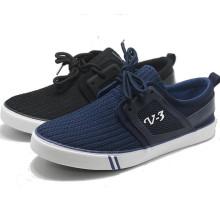 V 3 Knit Weave Fation Canvas Casual Men Leisure Shoes
