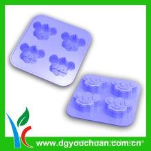 Healthy Non-toxic 100% Food Grade Silicone Kitchenware With Colorful Carton Shape