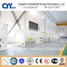 Conteneur-citerne à haute pression de GNL Lox Lin Lar Lco2 de haute qualité de Cyy
