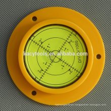 plastic round circular bubble level leveling tools