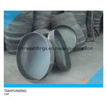 Casquettes en caoutchouc sans soudure ASTM A420 Wpl6 en acier au carbone