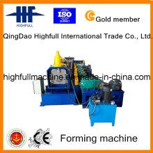 Rolo de aço galvanizado da calha que forma a máquina com velocidade 8-15m / Min da produção