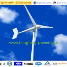 5kw vento turbina gerador Off Grid sistema para uso doméstico