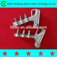 Galvanizado a quente polo linha ferragem/parafuso tipo tensão braçadeira aparelhos braçadeira/alimentação acessórios