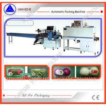 Vegetable Tray Automatic Shrink Packing Machinery