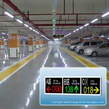 Available Parking Lots Guidance Display LED Message Screen