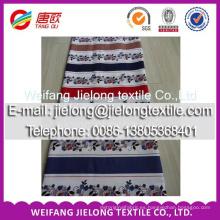 nuevo patrón de color impreso tela de algodón popular para el hogar