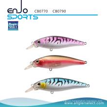 Angler Select Hard Bait Shallow Fishing Tackle Lure with Vmc Treble Hooks (CB0770)