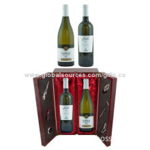New Cool Wooden Wine Gift Gets for Sale, OEM Orders are Welcome