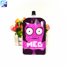 Spout Plastic Packaging Pouch Bag with Window