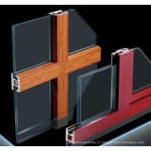 Profils de fenêtres en PVC 70 mm