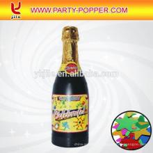 Шампанское конфетти с яркой металлической фольги звезды