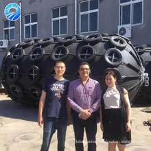 Offshore Anti Collision Pneumatic Rubber Boat Fender Supplier in China