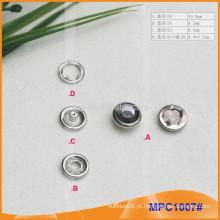 Crystal Cap Cinco patas botão Snap MPC1007