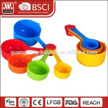Medida colher de plástico de um Set de 1-10g/ML