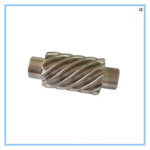 Engrenagem helicoidal de aço inoxidável por usinagem