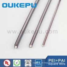 China principais fornecedor exportação 7.0 * 7.0 mm esmaltado cobre imã quadrado do fio