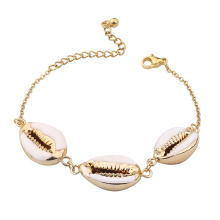 Bohemian Beach Shell Bracelet Tribal Style Fashion Season Sexy Trending Summer Charm Bracelets Gold Plated Silver Plated Wedding