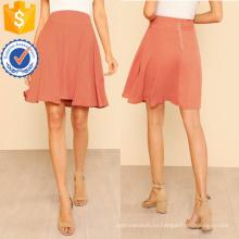 Деталь швом Расклешенная юбка Производство Оптовая продажа женской одежды (TA3085S)