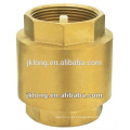 Válvula de retenção de mola de latão forjado J5003