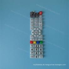 Benutzerdefinierte Siebdruck Silikonkautschuk Tastatur