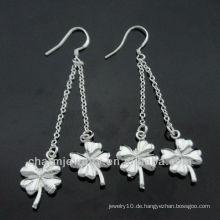 Großhandel 2013 Mode Sterling Silber überzogene Ohrringe für Dame ESA-004