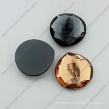 Diamantes de imitación de cristal de Flatback Rhinestone para la fabricación de collar