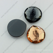 Flatback стекло Кристалл горный хрусталь для ожерелье делая