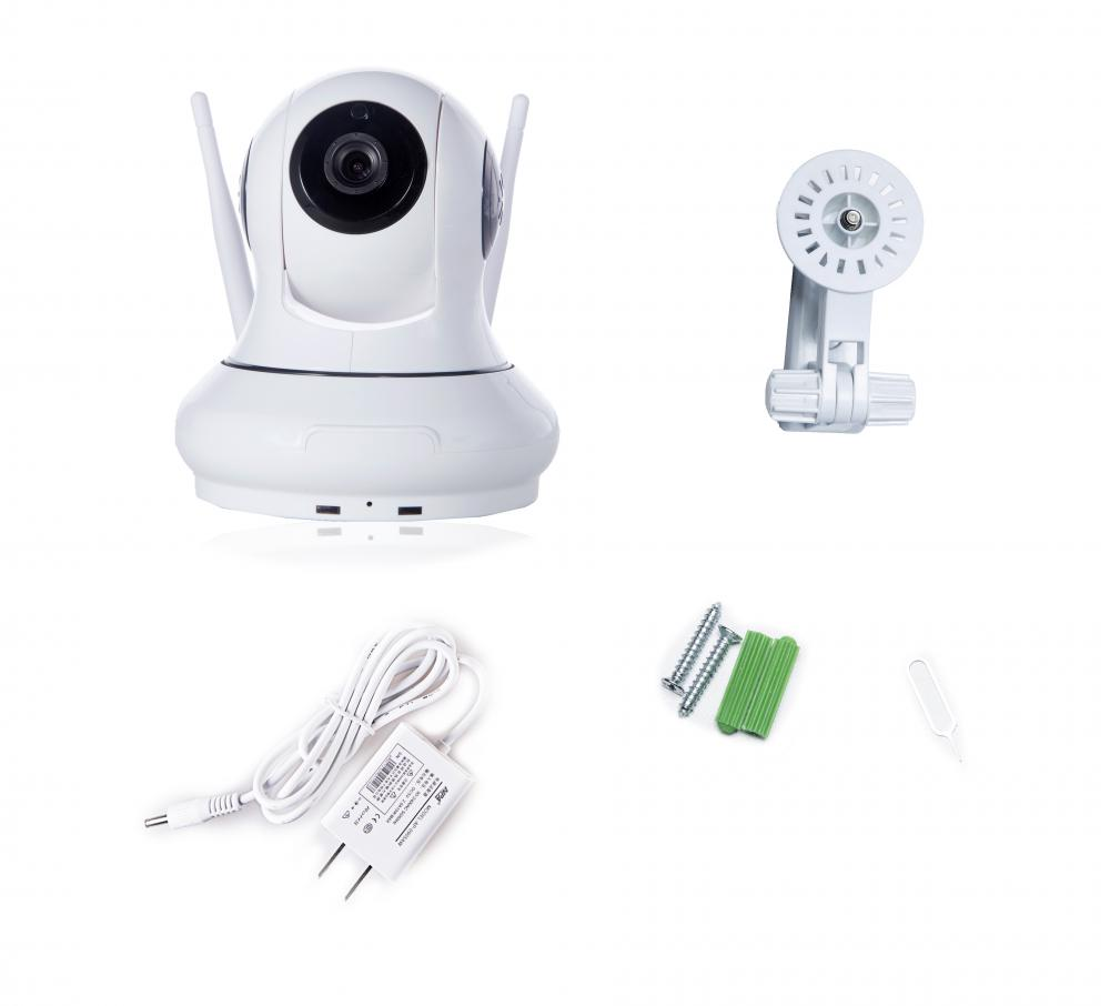 Wifi HD 1.0MP Pan/Tilt IP Camera Audio Recording IP Camera