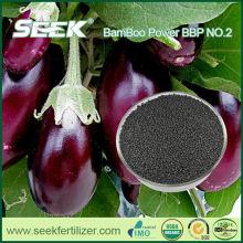 SEEK npk animal manure replaced by bamboo organic fertilizer