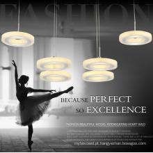 Luz Home do pendente do diodo emissor de luz do candelabro da decoração do hotel