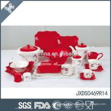 loud color moderate price tableware set