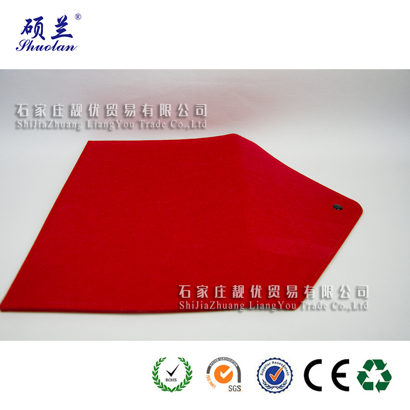 Good Quality Red Felt Envelope