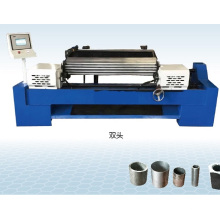 Máquina biseladora de extremos de tubos redondos de alta precisión