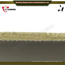3.7kg / m2 placa de armadura balística para el cuerpo